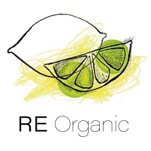 Logotipo del Restaurante RE Organic